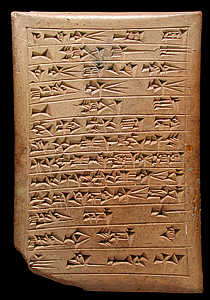 where was cuneiform discovered